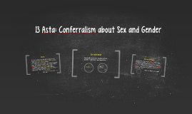 13 Conferralism about Sex and Gender
