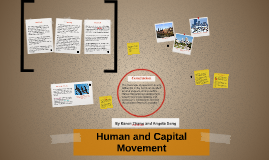 Human and Capital Movement