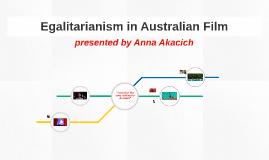 Egalitarianism in Australian Film