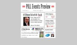 PILL Spring 2015 Events Preview