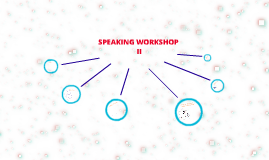 SPEAKING WORKSHOP II