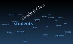 grade 6 class