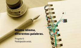 Copy of Variantes Léxicas y Culturales de los Países Hispanohablantes