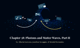 Copy of Chapter 38: Photons and Matter Waves, Part II