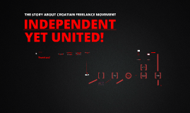 Independent yet united! The Story of Croatian Freelance Movement