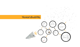 People with a mental disability