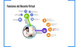 Funciones Docente Virtual