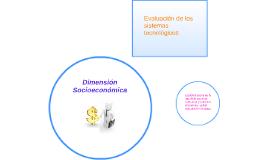 Dimensión Socieconómico