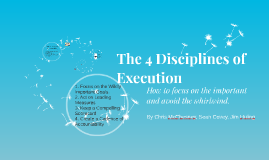 Book Report - The 4 Disciplines of Execution