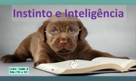 INSTINTO E INTELIGÊNCIA