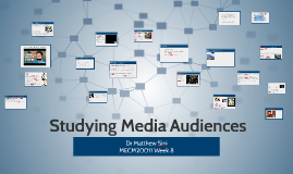 Studying Media Audiences