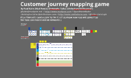 Copy of customer journey mapping game (transport)