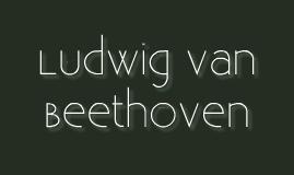 MUSC205 - Beethoven