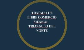 TRATADO DE LIBRE COMERCIO MÉXICO – TRIANGULO DEL NORTE