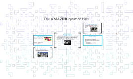The AMAZING year of 1981