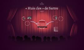 Huis Clos de Sartre