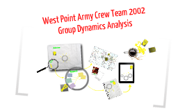 West Point Army Crew Team 2002 Group Dynamics Analysis