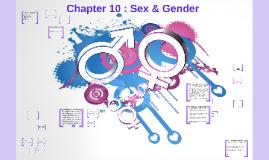 Chapter 10: Gender