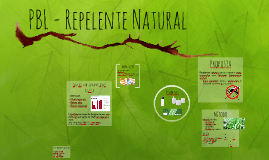 PBL - Repelente Natural