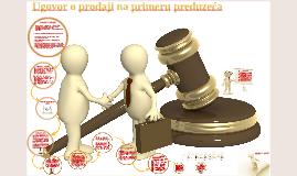 Ugovor o prodaji primer
