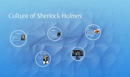Culture of Sherlock Holmes