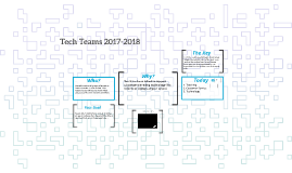 Tech Teams 2017-2018