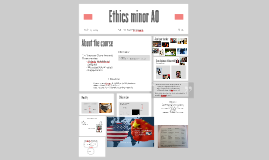Ethics minor AO