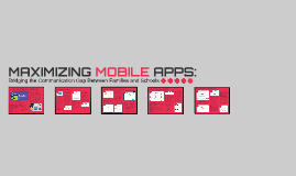 MAXIMIZING MOBILE APPS (Final Deliverable)