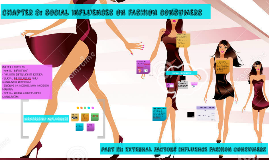 CHAPTER 8: SOCIAL INFLUENCES ON FASHION CONSUMER