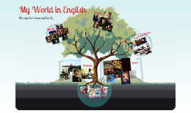 My World in English
