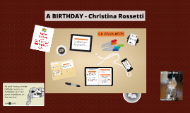 Copy of A BIRTHDAY - Christina Rossetti