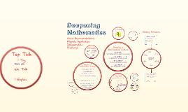 Deepening Maths Barrow Hedges