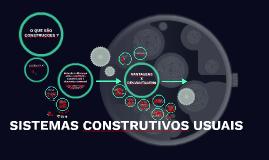 SISTEMAS CONSTRUTIVOS