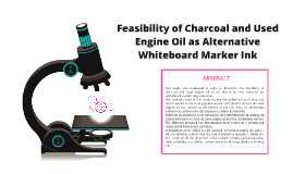 Feasibility of Charcoal and Used Engine Oil as Alternative W