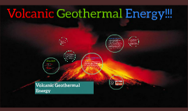 Mia D Volcanic Geothermal Energy