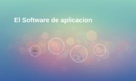 El Software de aplicacion