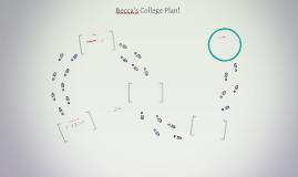 Becca's College Plan!