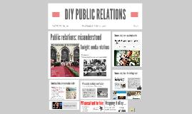DIY PUBLIC RELATIONS