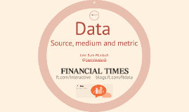 Data journalism at the Financial Times