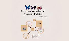 Copy of Recursos Verbales del Discurso Público