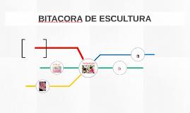 BITACORA DE ESCULTURA