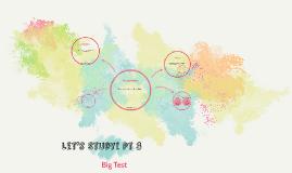 Let's Study! Pt 3