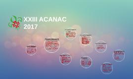 XXIII ACANAC - draft projeto pedagógico