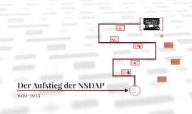 Der Aufstieg der NSDAP