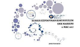 Copy of KURSUS KEPIMPINAN KOKURIKULUM
