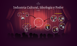 Industria Cultural, Ideología y Popder
