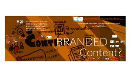O Discurso Multimodal em Estratégia de Branded Content
