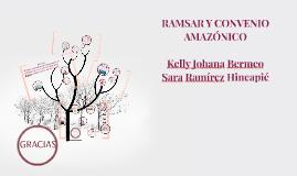 RAMSAR Y CONVENIO
