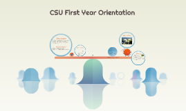 2017 First Year Orientation