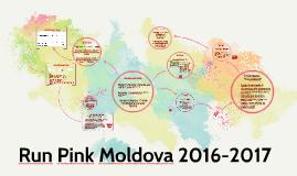 Run Pink Moldova 2016-2017